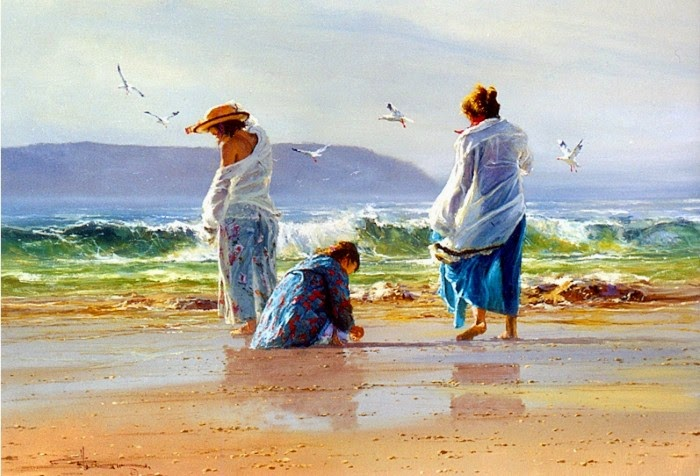 Художник-импрессионист. Robert Hagan
