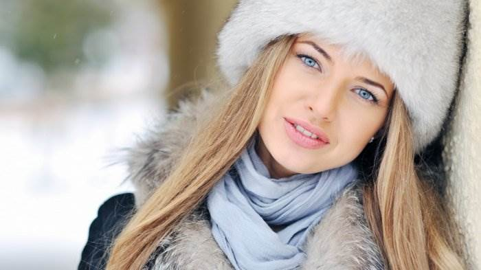 Красивые фотографии девушек зимой вили красотками