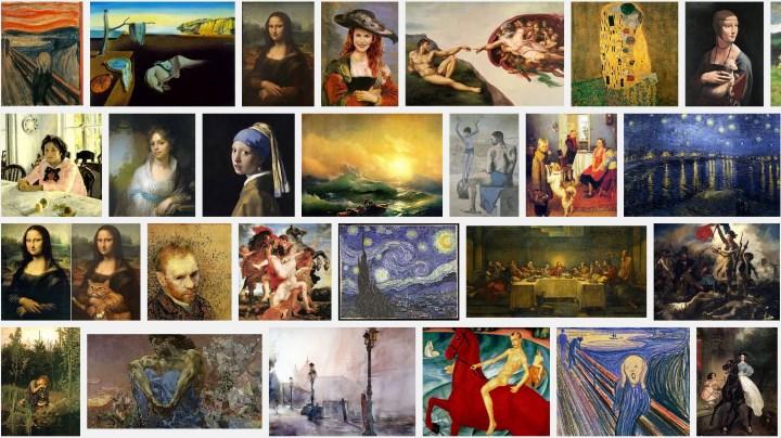 10 самых известных картин в мире.