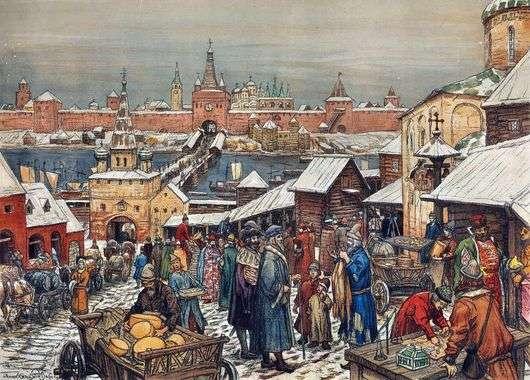 Картина васнецова новгородский торг. § 25. Природа Новгородской ...