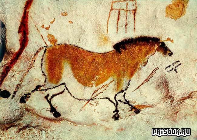 Красивые порно рисунки первобытных людей на стенах пещер