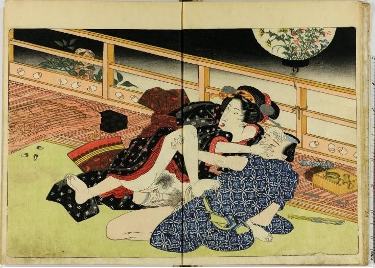 Японское искусство порнографии