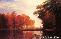 Autumn Woods(Albert Bierstadt)