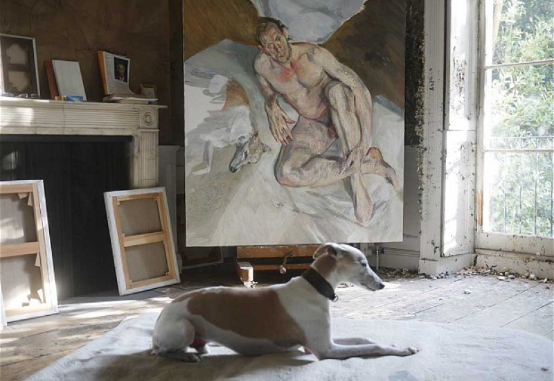 003_Portrait of the Hound, 2011