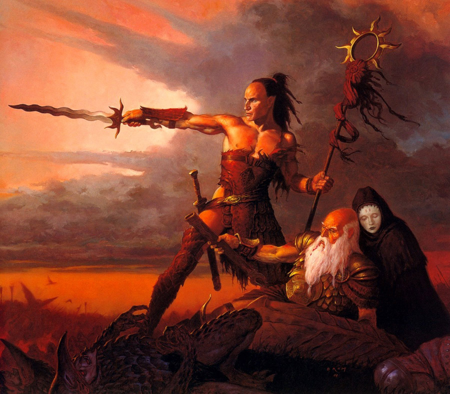 The kings sword - G. Brom