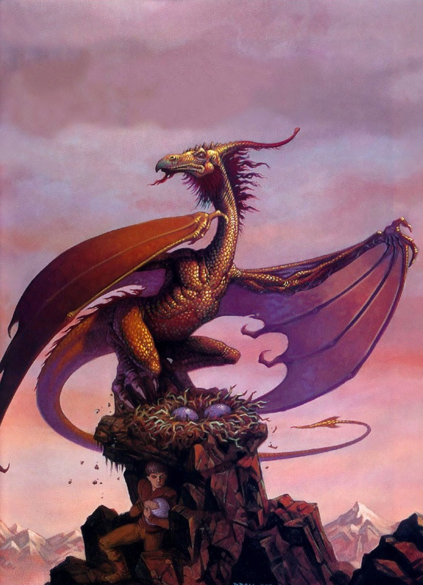 Dragons nest - G. Brom