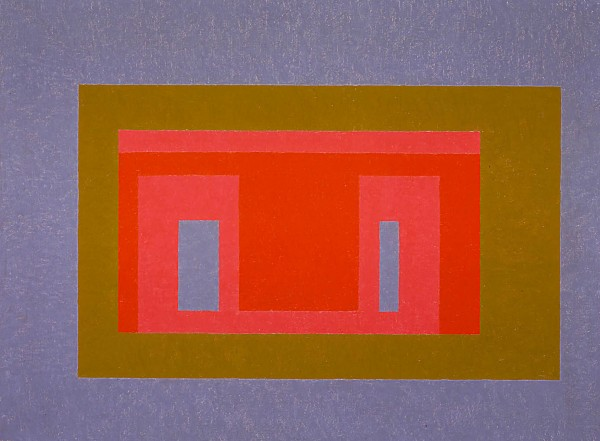 Josef Albers On Tideland, 1947-1955