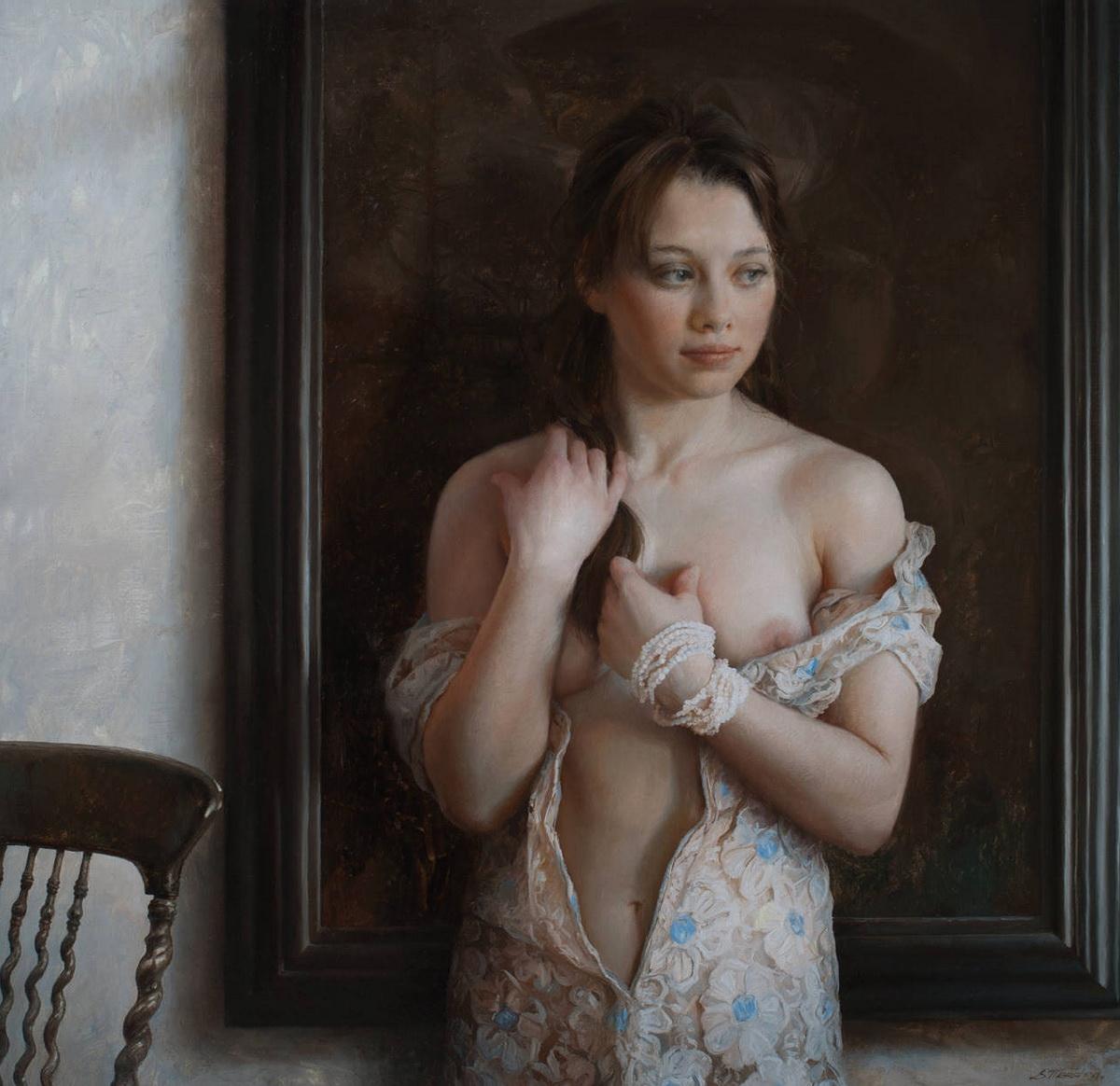 Обнаженные Девушки В Картинах Русских Художников