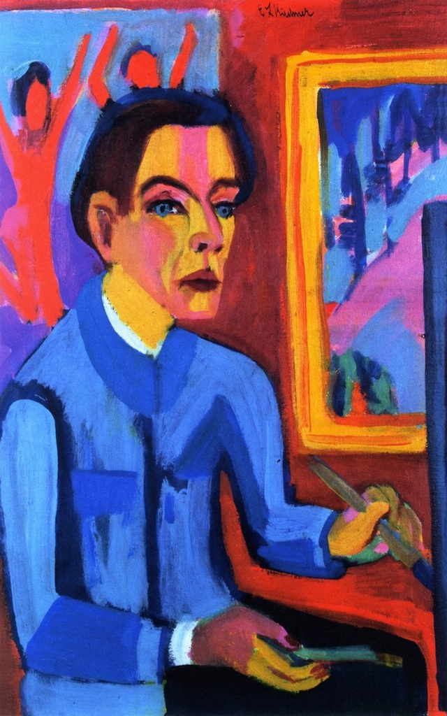 The-Painter-by-Ernst-Ludwig-Kirchner
