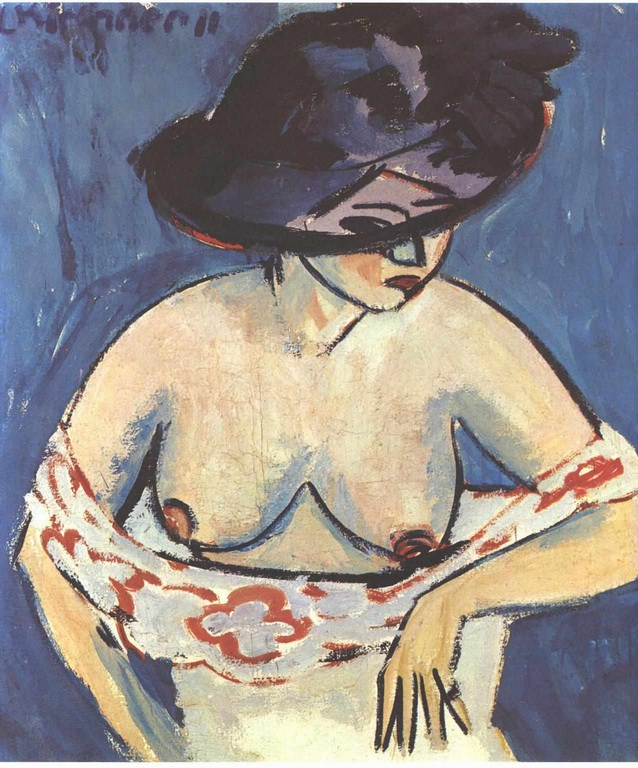 half-naked-woman-with-a-hat-1911