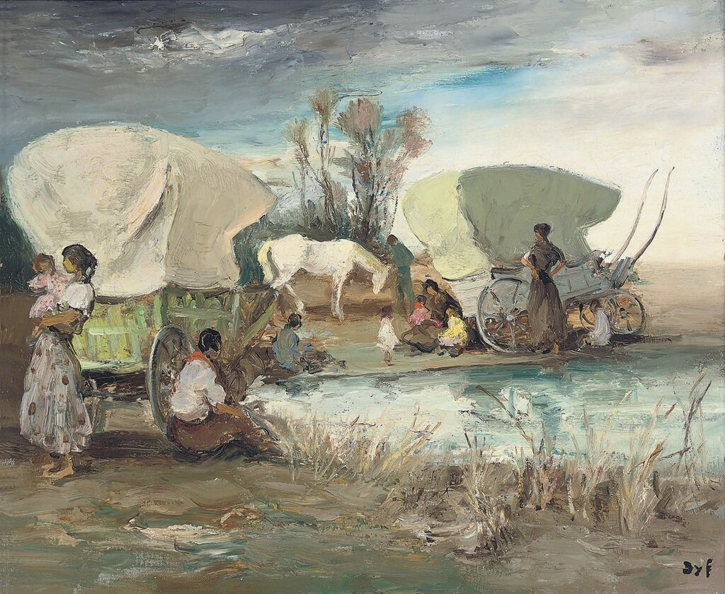 The Gypsies Encampment, 1950.jpg