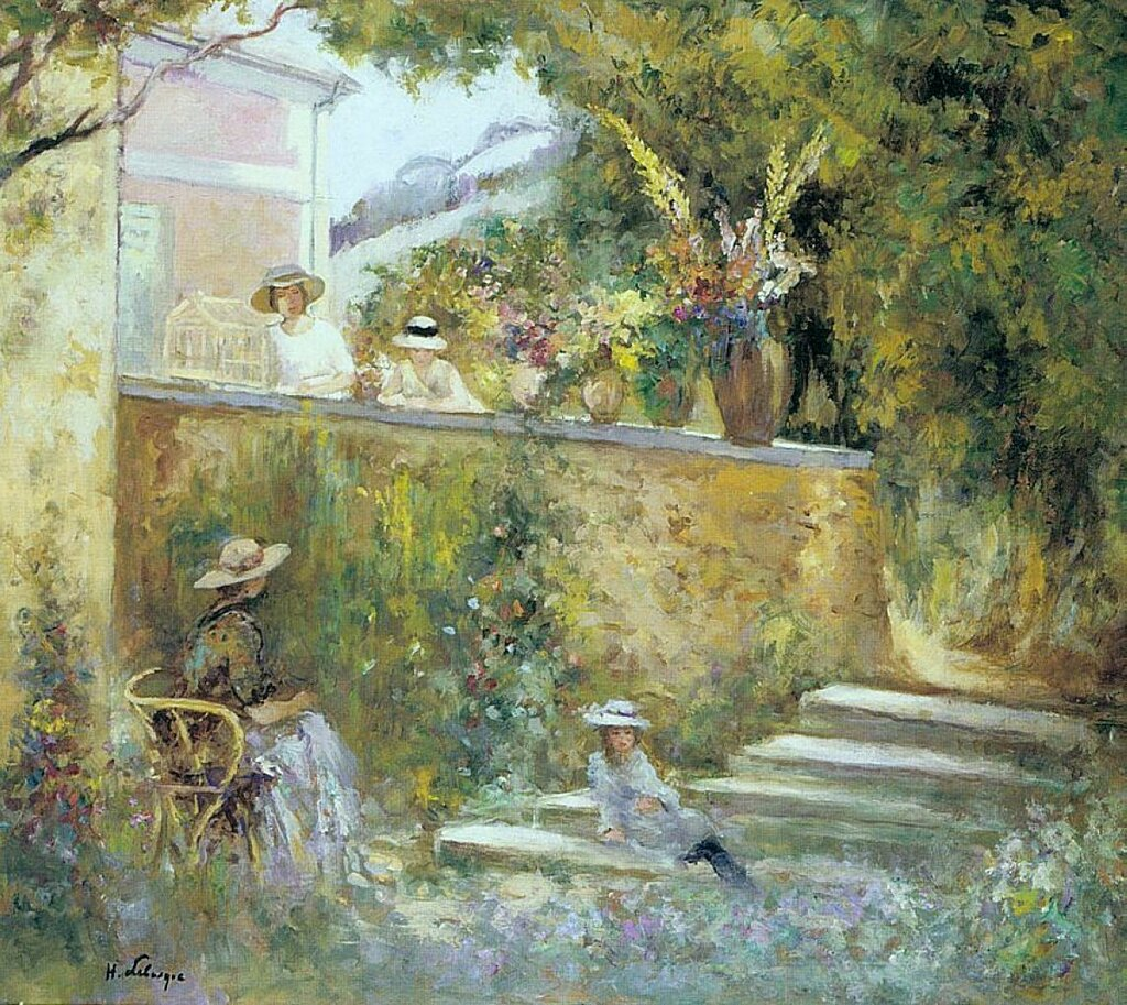 Nono and Madame Lebasque in the Garden.jpeg