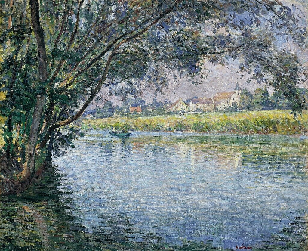The Banks of the River Marne near Montevrain, 1900.jpg