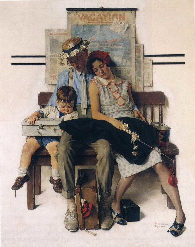 Норман роквелл картины. Норман Роквелл - культовый американский ...