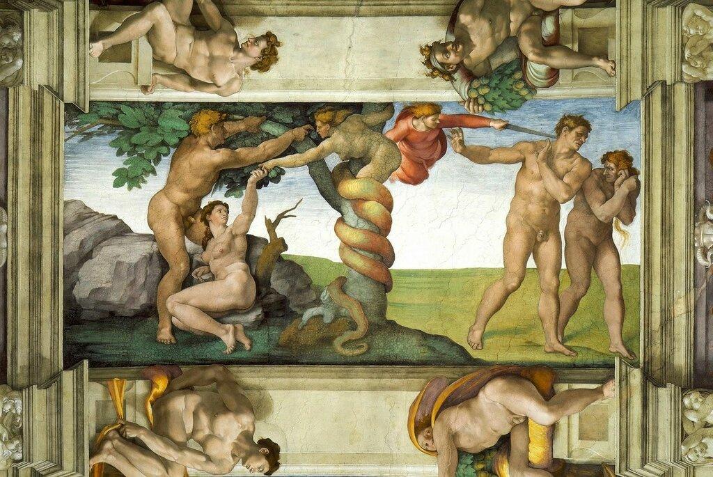 Около 1530 года микеланджело написал картину леда и лебедь егэ ответы тест