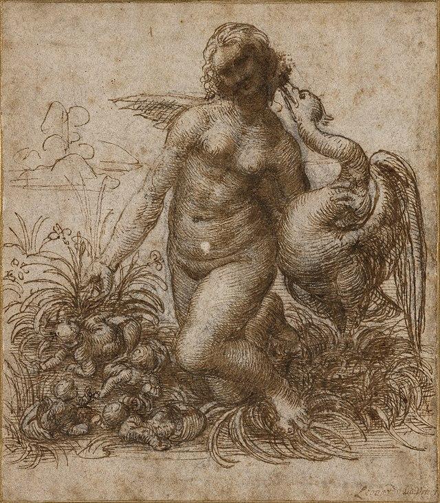 около 1530 года микеланджело написал картину леда и лебедь егэ вариант